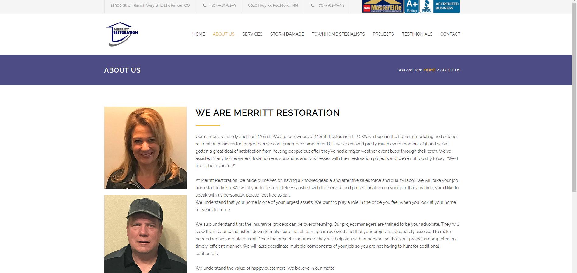 merrit restoration-about us