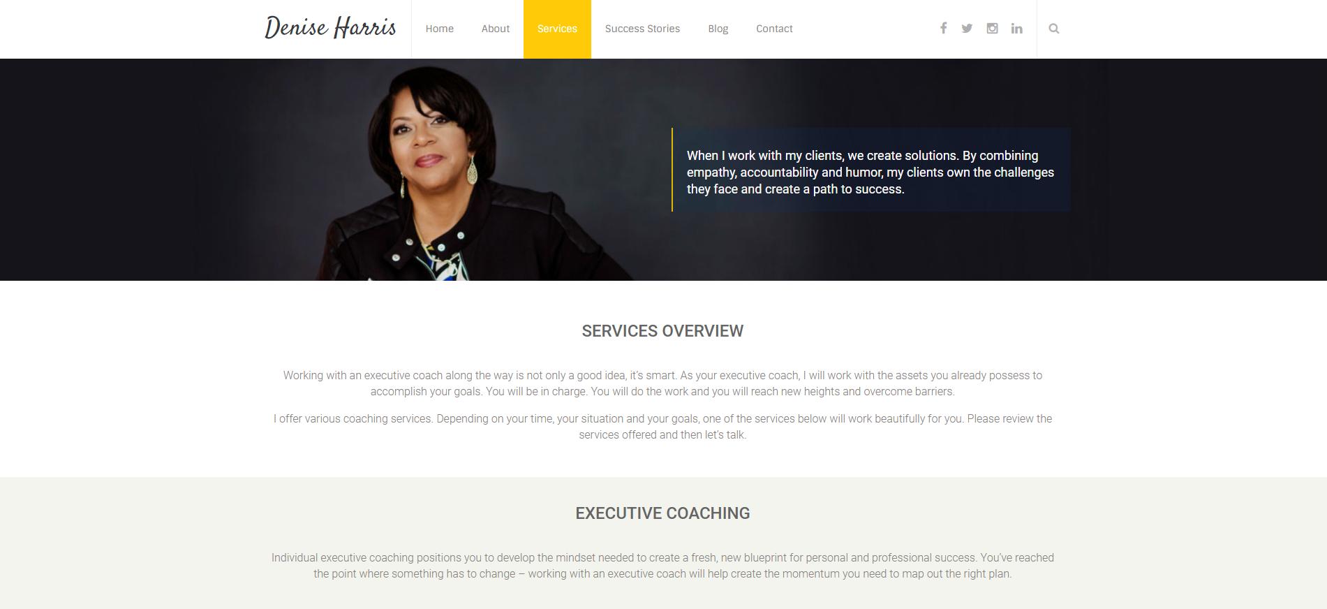 Denise Harris Online-services
