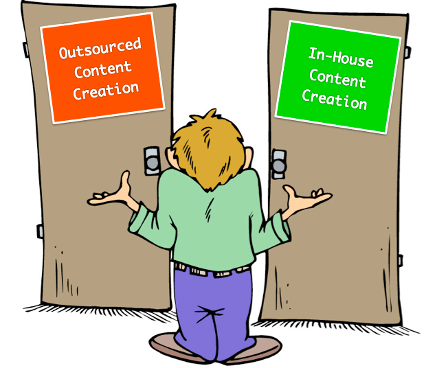 Should A Small Business Outsource Content Writing, Develop Talent In-House, or Both?
