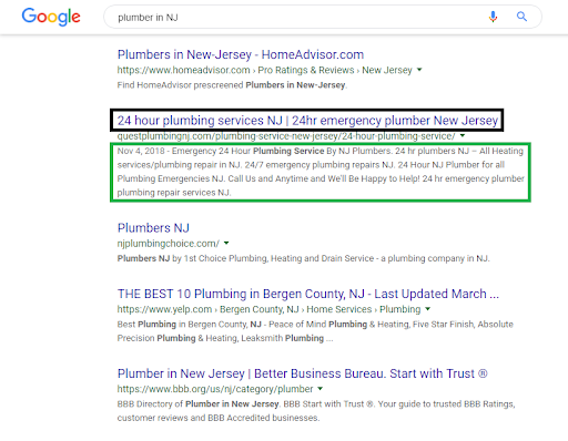 Meta Descriptions and Title Tags